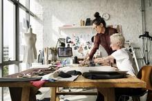 Joy and pain designing fashion