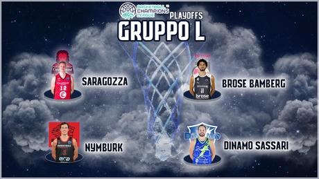 La Dinamo inserita nel gruppo L