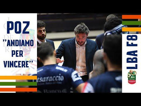 "FINAL EIGHT 2021 | POZ: ""ANDIAMO PER VINCERE"""