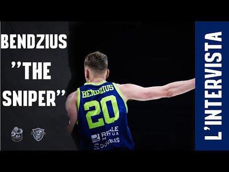 "L'INTERVISTA   BENDZIUS ""THE SNIPER"""